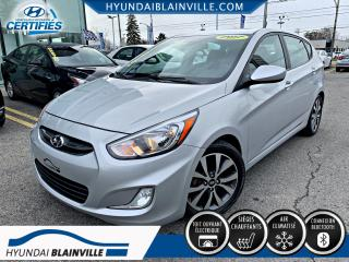 Used 2017 Hyundai Accent SE DÉMAR DISTANCE, TOIT OUVRANT, MAGS, B for sale in Blainville, QC