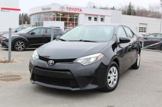 Used 2016 Toyota Corolla Berline 4 portes, boîte manuelle, CE for sale in Shawinigan, QC