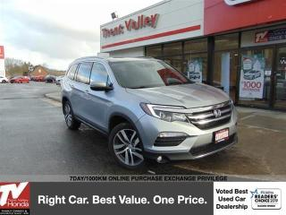 Used 2017 Honda Pilot Touring (1) Owner, Winter Tires for sale in Peterborough, ON