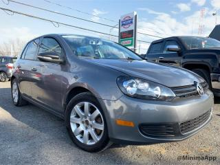 Used 2012 Volkswagen Golf Hayon , Comfortline,manuelle for sale in Drummondville, QC
