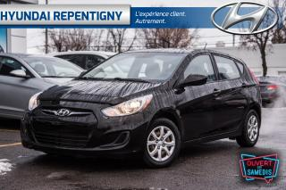 Used 2013 Hyundai Accent GL 5 PORTES**A/C, SIÈGES CHAUFFANTS** for sale in Repentigny, QC