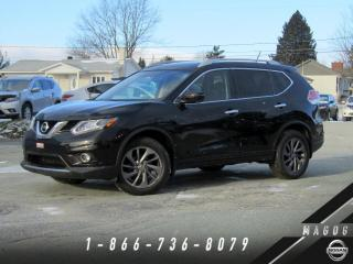 Used 2016 Nissan Rogue SL AWD + PREMIUM + CUIR + BOSE + NAVI! for sale in Magog, QC