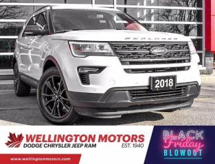 Used 2018 Ford Explorer XLT --> 7 Passenger --> 1 Owner !! for sale in Guelph, ON