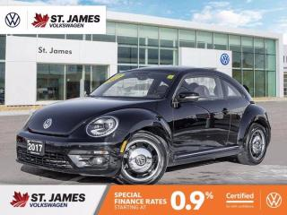 Used 2017 Volkswagen Beetle Coupe Classic, Clean Carfax, Apple Carplay, Backup Camera for sale in Winnipeg, MB