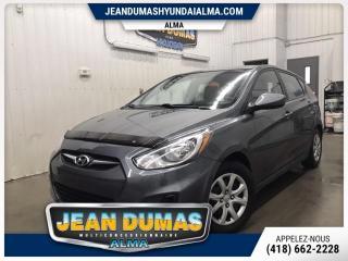 Used 2013 Hyundai Accent MODÈLE GL AUTOM DÉMARREUR PNEU HIVER NEU for sale in Alma, QC