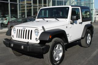 Used 2017 Jeep Wrangler 4WD 2dr Sport for sale in Boucherville, QC