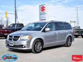 Used 2017 Dodge Grand Caravan SXT Premium Plus ~Power Seat ~Rear Air ~Stow 'N Go for sale in Barrie, ON