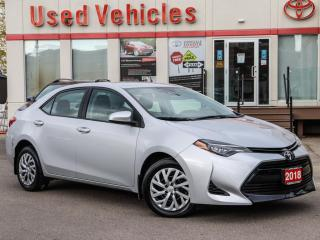 Used 2018 Toyota Corolla LE | CAMERA | HEATED SEAT | 1 OWNER | REMOTE START for sale in North York, ON