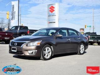 Used 2013 Nissan Altima 2.5 SL ~Nav ~Cam ~Heated Seats + Wheel ~Moonroof for sale in Barrie, ON