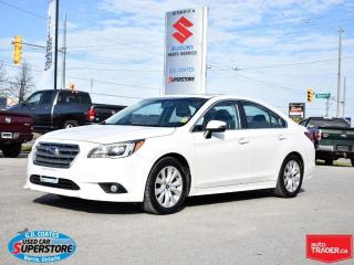 Used 2016 Subaru Legacy 2.5i Touring AWD ~Heated Seats ~Camera ~Moonroof for sale in Barrie, ON
