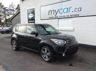 Used 2016 Kia Soul SX Luxury LEATHER, SUNROOF, NAV, HEATED PWR SEAT!! WOW!! for sale in Richmond, ON