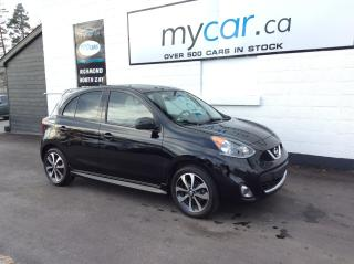 Used 2017 Nissan Micra SR ALLOYS, HEATED SEATS, BACKUP CAM!! for sale in Richmond, ON