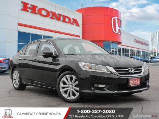 Used 2014 Honda Accord Touring GPS NAVIGATION | LEATHER INTERIOR | BLUETOOTH for sale in Cambridge, ON