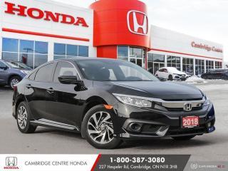 Used 2018 Honda Civic HEATED SEATS | PUSH BUTTON START | WALK AWAY DOOR LOCK for sale in Cambridge, ON