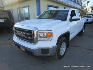 Used 2015 GMC Sierra 1500 GREAT VALUE SL EDITION 6 PASSENGER 5.3L - VORTEC.. TWO-WHEEL DRIVE.. QUAD-CAB.. SHORTY.. TRAILER BRAKE.. BLUETOOTH SYSTEM.. BACK-UP CAMERA.. for sale in Bradford, ON