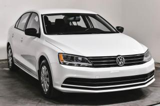 Used 2016 Volkswagen Jetta TRENDLINE 1.4TSI CAMERA DE RECUL for sale in St-Hubert, QC