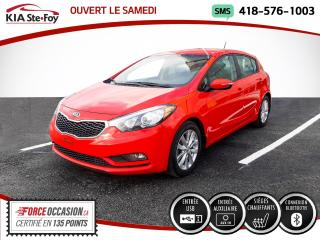 Used 2016 Kia Forte5 LX+* SIEGES CHAUFFANTS* JAMAIS ACCIDENTÉ for sale in Québec, QC