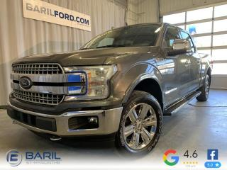 Used 2018 Ford F-150 Lariat cabine SuperCrew 4RM caisse de 6, for sale in St-Hyacinthe, QC