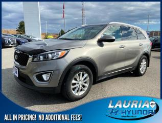 Used 2017 Kia Sorento 2.4L FWD LX for sale in Port Hope, ON