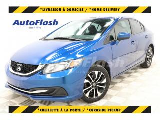 Used 2015 Honda Civic *EX *CAMERA *BLUETOOTH *TOIT/ROOF *MAGS for sale in St-Hubert, QC