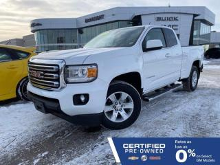 Used 2016 GMC Canyon SLE 4x4 Extended Cab | Touchscreen Radio | Remote Start for sale in Winnipeg, MB