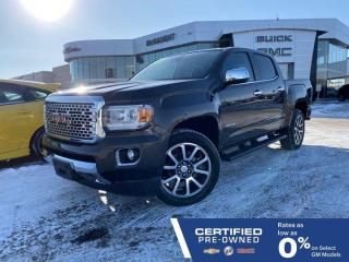 Used 2019 GMC Canyon Denali 4x4 Crew Cab | Heated & Cooled Seats | Bose for sale in Winnipeg, MB