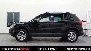 Used 2016 Volkswagen Tiguan TRENDLINE + 2WD + BLUETOOTH + CAMERA ! for sale in Trois-Rivières, QC