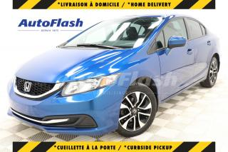 Used 2015 Honda Civic Sedan *EX *CAMERA *BLUETOOTH *TOIT/ROOF *MAGS for sale in Saint-Hubert, QC