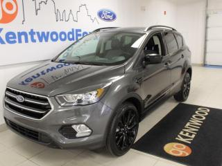 Used 2018 Ford Escape SE | AWD | Black Sport Pkg | Heated Cloth Bucket seats | Power Seat for sale in Edmonton, AB