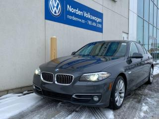 Used 2016 BMW 5 Series 528i xDrive for sale in Edmonton, AB