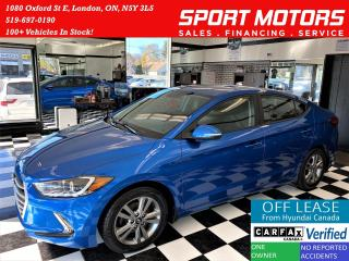 Used 2018 Hyundai Elantra GL+Apple Play+Camera+New Tires+ACCIDENT FREE for sale in London, ON