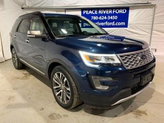 Used 2017 Ford Explorer Platinum for sale in Peace River, AB