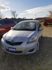 Used 2009 Toyota Yaris silver for sale in Lambton Shores, ON