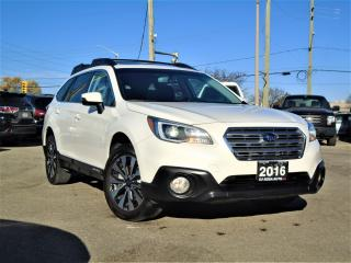 Used 2016 Subaru Outback AUTO AWD 2.5i w/Limited  NAVI BLIND SPOT LEATHER for sale in Oakville, ON