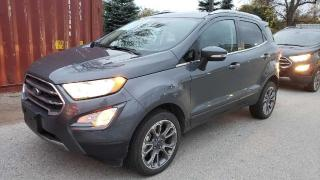 Used 2020 Ford EcoSport Titanium available in sutton for sale in Sutton West, ON