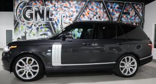 Used 2017 Land Rover Range Rover AUTOBIOGRAPHY - Supercharged for sale in Concord, ON