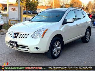 Used 2008 Nissan Rogue SL|LOW KM|AWD|HEATED SEATS|WARRANTY|CERTIFIED for sale in Oakville, ON