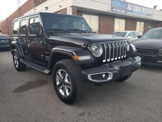 Used 2018 Jeep Wrangler Sahara for sale in Brampton, ON