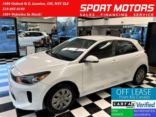 Used 2018 Kia Rio LX+Camera+Bluetooth+Heated Steering+ACCIDENT FREE for sale in London, ON