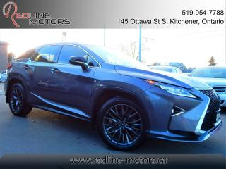 Used 2016 Lexus RX 350 F-Sport.Navigation.Camera.BlindSpot.OneOwner,LowKm for sale in Kitchener, ON