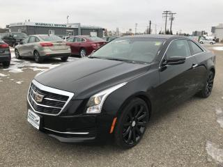 Used 2017 Cadillac ATS Coupe 2dr Cpe 2.0L AWD *Heated Seats* *Sunroof* *Turbo* for sale in Brandon, MB