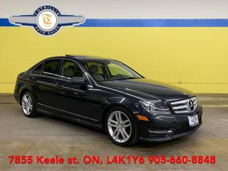 Used 2013 Mercedes-Benz C-Class C 300 4Matic, Only 88K km for sale in Vaughan, ON
