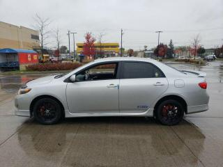 Used 2010 Toyota Corolla Sport Pkg, S, 4 Door, 3/Y Warranty Available for sale in Toronto, ON