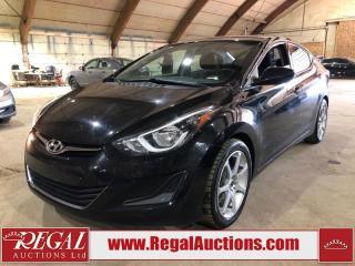 Used 2016 Hyundai Elantra 4D Sedan for sale in Calgary, AB