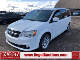 Used 2019 Dodge Grand Caravan SXT Premium Plus WAGON 3.6L for sale in Calgary, AB