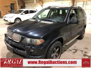 Used 2006 BMW X5 4.4i 4D UTILITY AWD for sale in Calgary, AB