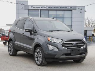 New 2020 Ford EcoSport Titanium NAV | FORDPASS | LEATHER for sale in Winnipeg, MB