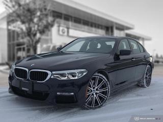 Used 2018 BMW 5 Series 540i xDrive INTERIOR COMFORT - M SPORT PLUS for sale in Winnipeg, MB