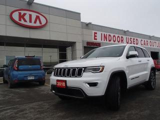 Used 2018 Jeep Grand Cherokee GRAND CHEROKEE LIMITED for sale in Nepean, ON