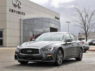 Used 2019 Infiniti Q50 3.0t Signature Edition AWD | Low Mileage for sale in Winnipeg, MB